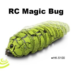 Infrared controlled magic bug toy