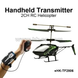 Handheld transmitter 2CH RC helicopter for sales