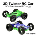 3D Twister Doublesided Flip Over Racer RC Cars