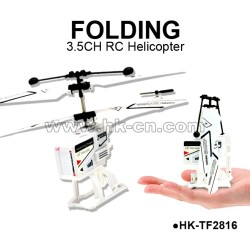 foldingr metal 3.5CH rc helicopter,Can Keep in Pocket