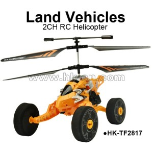 Toyabi land vehicles metal 2CH RC helicopter for sales