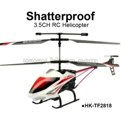 Middle Size Shatterproof 3.5CH RC Helicopter