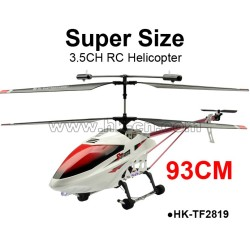 big size 93cm  metal 3.5CH RC helicopter