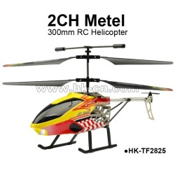 Hot 30cm 2CH middle metal RC Helicopter for sales