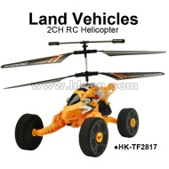 land vehicles 2CH RC helicopter