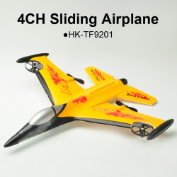 4CH Sliding RC Airplane
