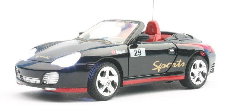 1:52 escala rc coche de carreras( caja de regalo)