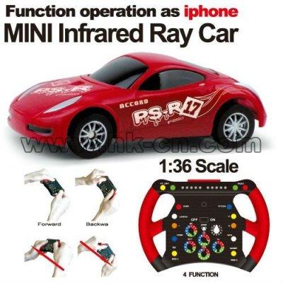 1:36のスケールRCの車を感じる小型レースカーの落書き車の重力