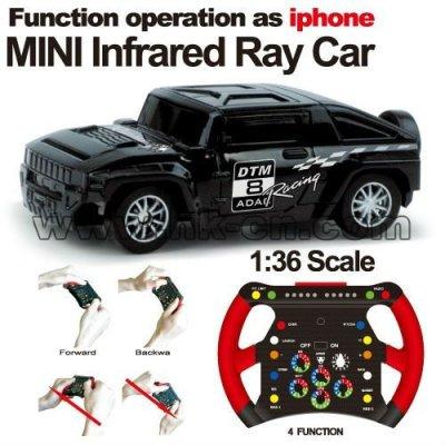 1:36 Échelle mini rc voiture de course graffitis voiture la gravité de détection de voiture