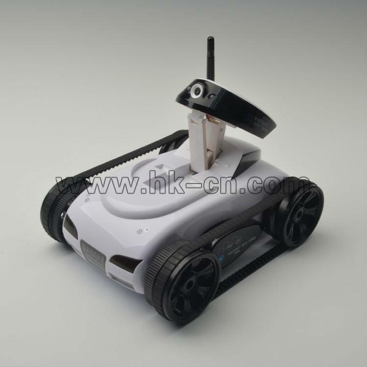 ios app gesteuert wireless spy tank