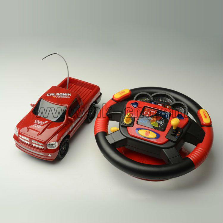Rc camión con volante multifunción/estados unidos simulador de camiones