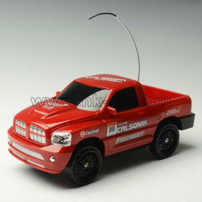Rc camión de juguete con el real- como la rueda de dirección