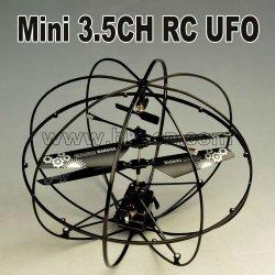 Canal 3.5 ufo mini helicóptero del rc