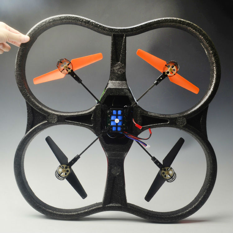 Enorme 2.4g ppe rc ovni parrot ar drone ar drone