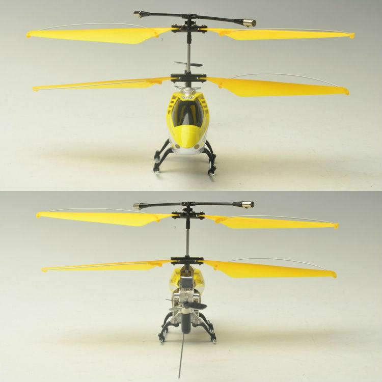 ジャイロ付き3chのrcのヘリコプター