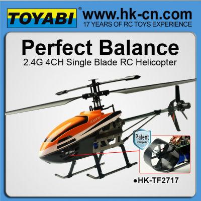 parfait équilibre rc hélicoptère lame unique