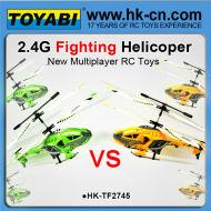 Rc hélicoptère de combat 2.4g