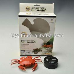 Super réaliste, ir télécommande rc de crabe