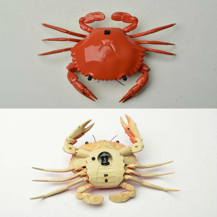super realista de infrarrojos de control rc de cangrejo