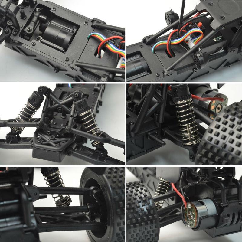 1/12 de alta velocidad rc buggy