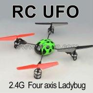 De cuatro canales 2.4g quad- copter, escarabajo flyer.