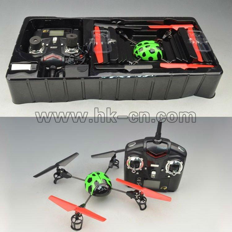 De cuatro canales de aviones no tripulados 2.4g helicóptero/de aviones no tripulados uav/loro de aviones no tripulados