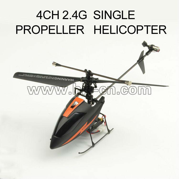 mini sola hoja del helicóptero del rc mini helicóptero del rc hoja de un solo helicóptero del rc