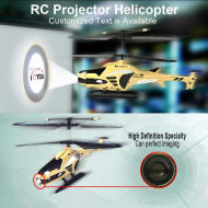 Ir control 3.5 projecteur. hélicoptère ch