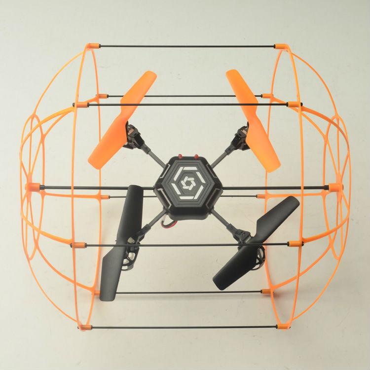 2.4g 4ch gecko ovni rc parrot ar drone 2.0/quadcopter