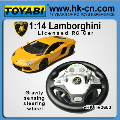 Lenkrad und schwerkraft-sensor lizenziert rc auto