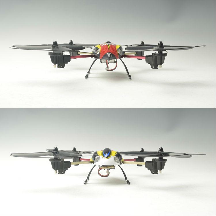 2.4g 4ch rc helicóptero de aviones no tripulados con 4 ejes& 2.4g quadcopter