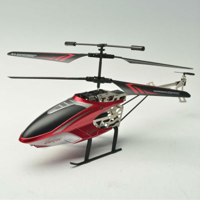 Helicóptero 3.5ch, x 29 5.5 13.5cm x tamaño y el color rojo