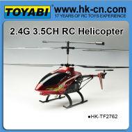 2.4g structure en alliage d'hélicoptère gros hélicoptère