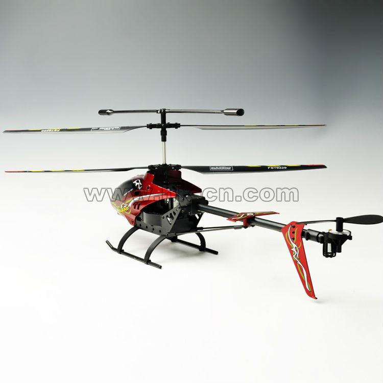 2.4g estructura de aleación de helicóptero helicóptero de grandes