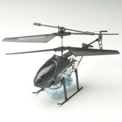 3.5- canal. hÉlicoptÈre assemblée auto, vidéo et peut souffler des bulles