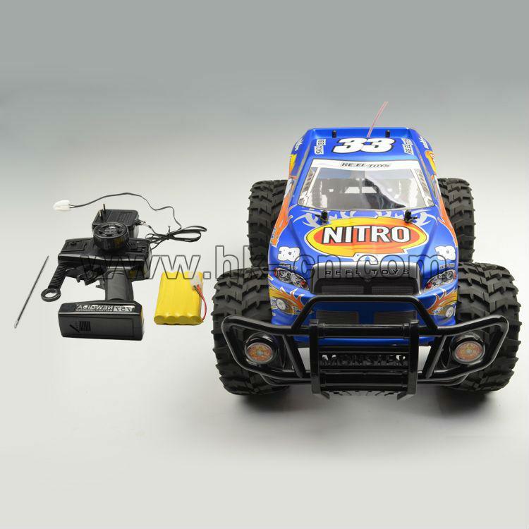 1/10 4 canales rc buggy camiones monstruo del coche del rc para las ventas