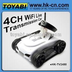 Wifi caméra de voiture 2.4g wifi, réservoir réservoir de rc voiture de rc