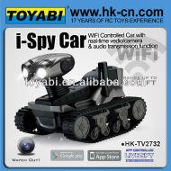 tanque ispy controlada wifi cámara del coche del coche wifi