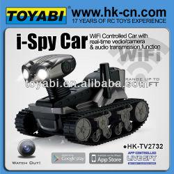 réservoir de voiture contrôlée ispy wifi wifi caméra de voiture