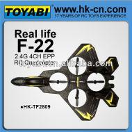 2.4g 4ch f22 modèle d'avion avec gyro avions à vendre modèle réduit d'avion