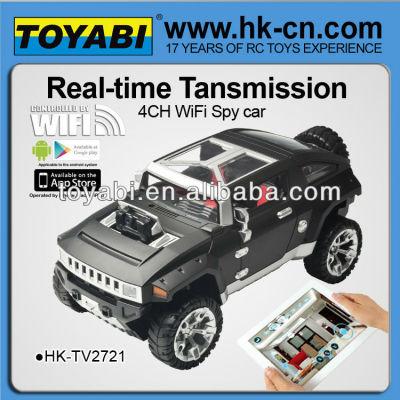 Hummer 2.4g hx controlada wifi cámara del coche del coche wifi wifi mando a distancia de coche con la cámara