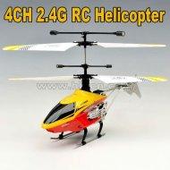 Ghz 2.4 4ch mini hélicoptère de rc avec la lumière led