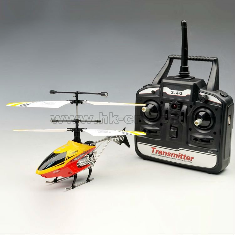 Ghz 2.4 4ch mini helicóptero del rc con la luz led