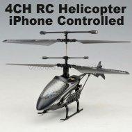 Première 2012 4ch 2.4g iphone contrôle rc hélicoptère avec la lumière led