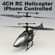 Mini 4ch 2.4g iphone. rc hélicoptère avec la lumière led- iphone commandé