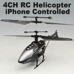 2.4g mini 4-kanal rc hubschrauber mit led licht iphone- iphone gesteuert