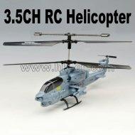 La vie réelle 2.4g cobra rc hélicoptère
