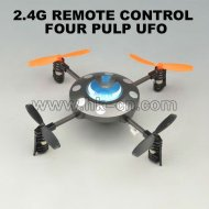 2.4g 4 channel rc ufo style de quatre axes