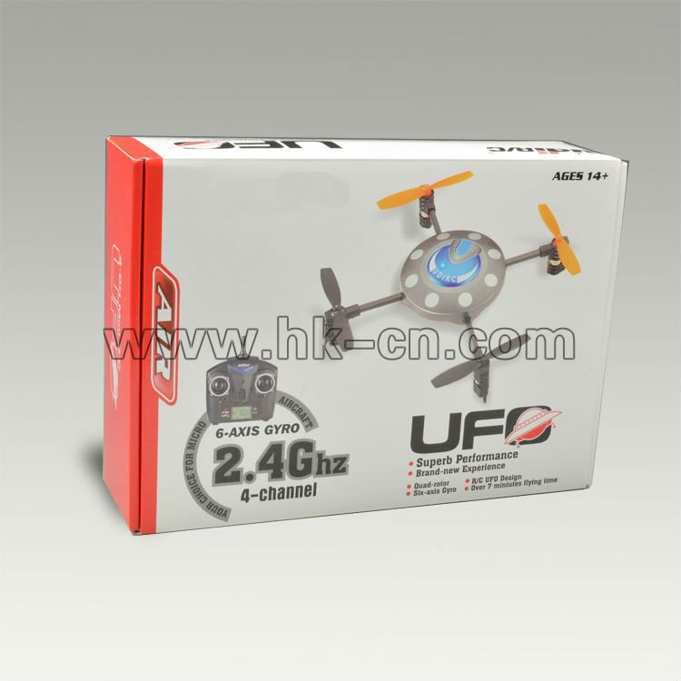 2.4g 4 achse ufo papagei ar drohne 2.0