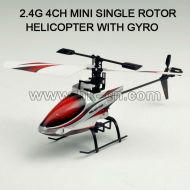 Canal 4 2.4 ghz sola hoja del helicóptero del rc v911 similar